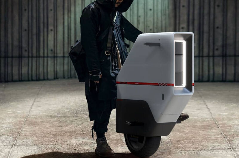 Self-Balancing Monowheel Scooters