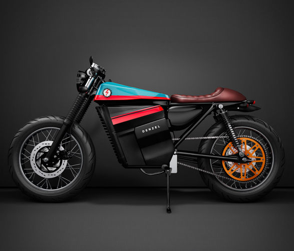 All-Electric Cafe Racers