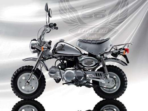 Honda's Monkey Limited BA-AB27 50cc Bike (Yes, For Adults)