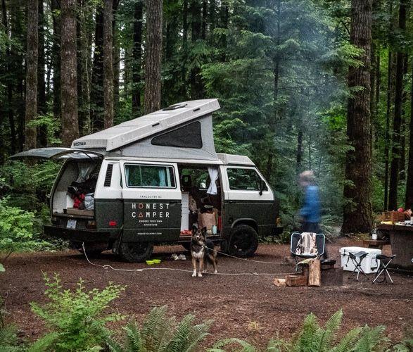 Camper Van Rental Services
