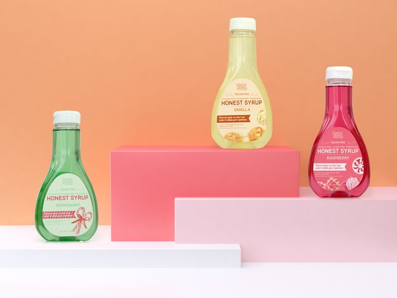 Transparent Clean-Label Syrups