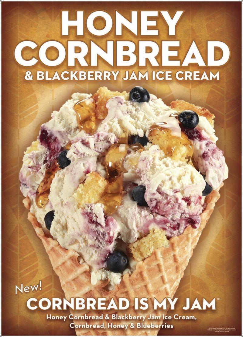 Corn Bread Ice Creams