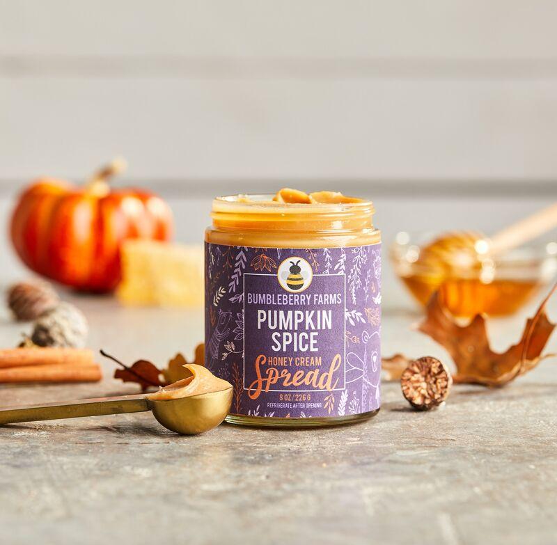 Seasonal Honey Cream Spreads