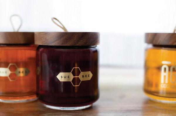 Reinvigorated Honey Jars
