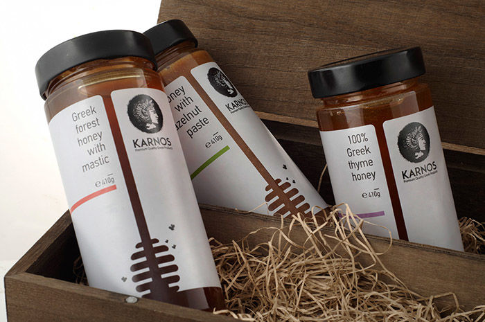 Hive-Inspired Honey Packaging
