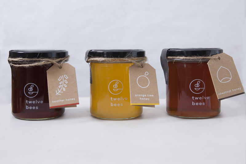 Understated Honey Jars