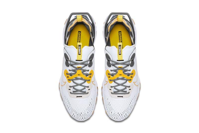 Vibrant Honey-Themed Tonal Sneakers