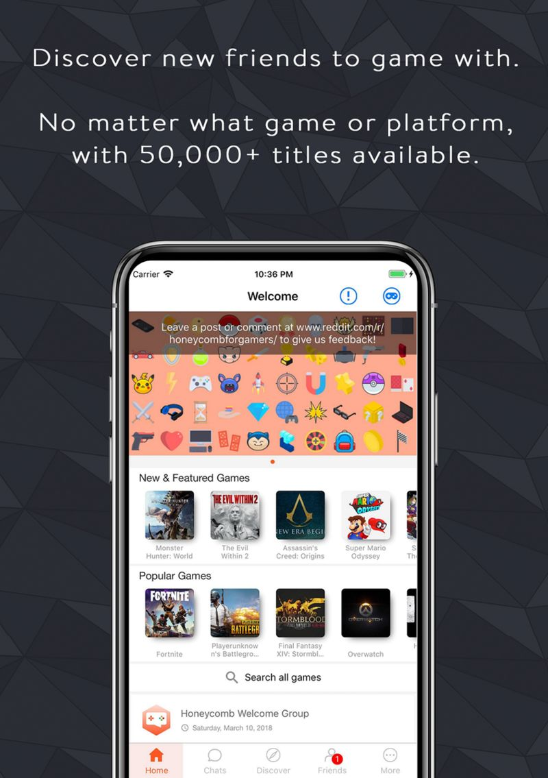 Competitor-Finding Gaming Apps