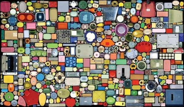 Household Object Mosaics