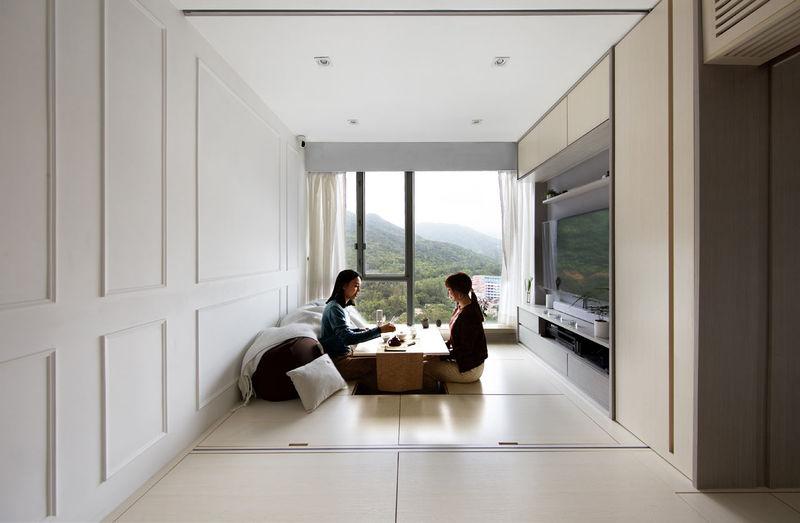 Peaceful Smart Homes : hong kong apartment design