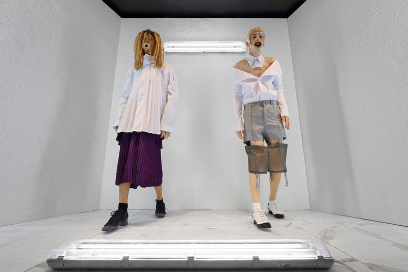 Hyper-Real Dystopic Mannequins