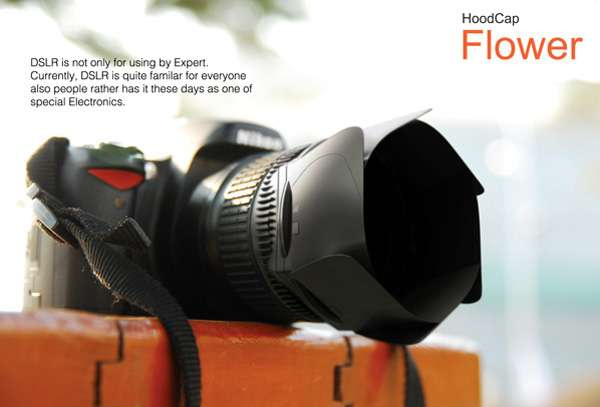 Blooming Lens Caps