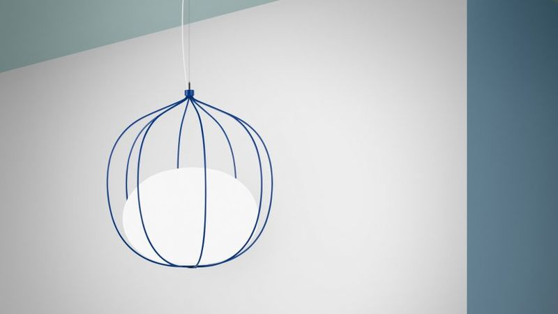 Vibrant Wireframe Lighting