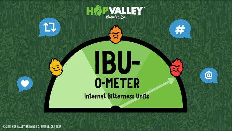 Online Bitterness-Themed Beer Ads