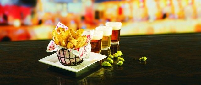 Hops-Seasoned French Fries