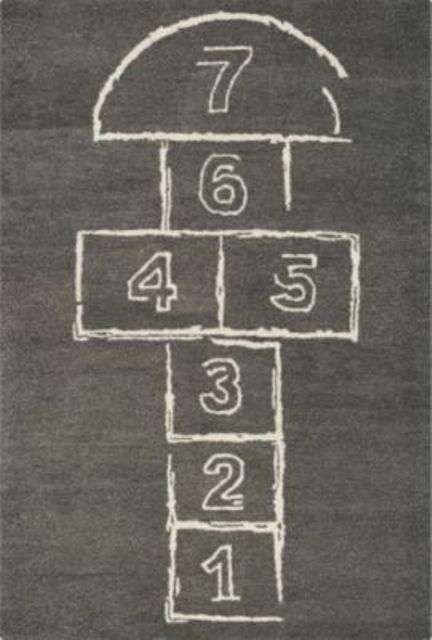Playground Inspired Rugs Hopscotch Rug