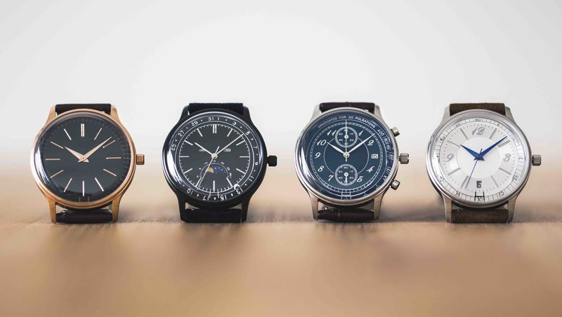 Vintage-Inspired Customizable Timepieces