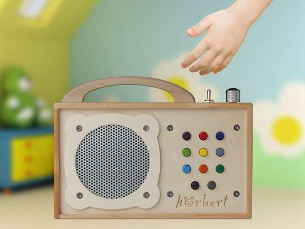 child friendly radios horbert mp3 player. Black Bedroom Furniture Sets. Home Design Ideas