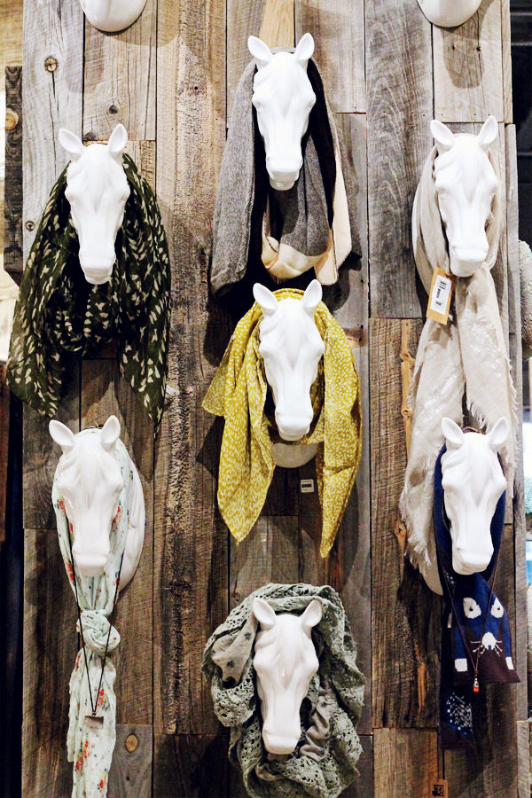 Eccentric Equestrain Inspired Displays Horse Head Display