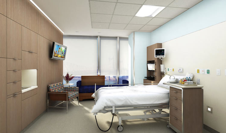 Patient-Focused Hospital Rooms