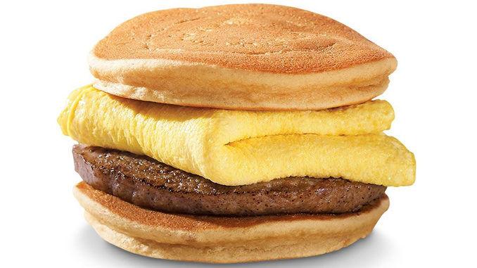 Savory Hotcake Breakfast Sandwiches