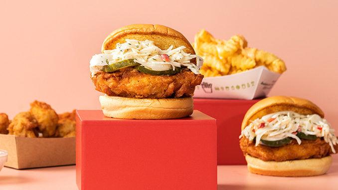 Buttermilk-Marinated Chicken Sandwiches