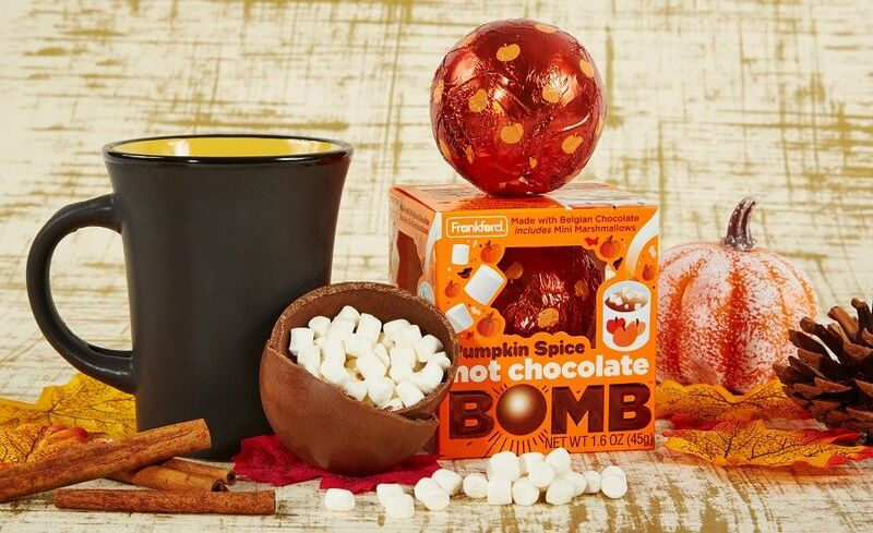 Spiced Hot Cocoa Bombs