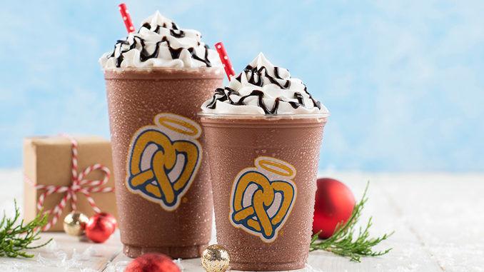 Frozen Holiday Hot Chocolates