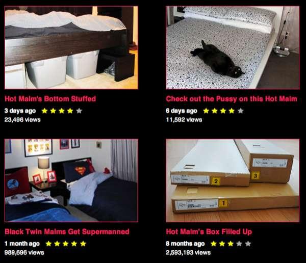 Frisky Bed-Fetishizing Platforms