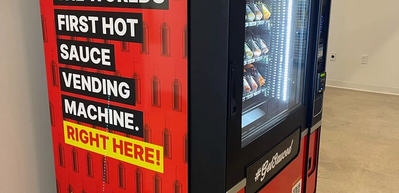 Hot Sauce Vending Machines