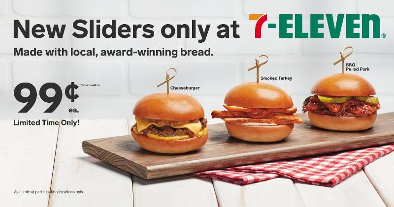 Convenience Store Slider Sandwiches
