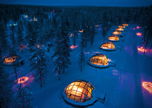Glass Igloo Hotel Parks