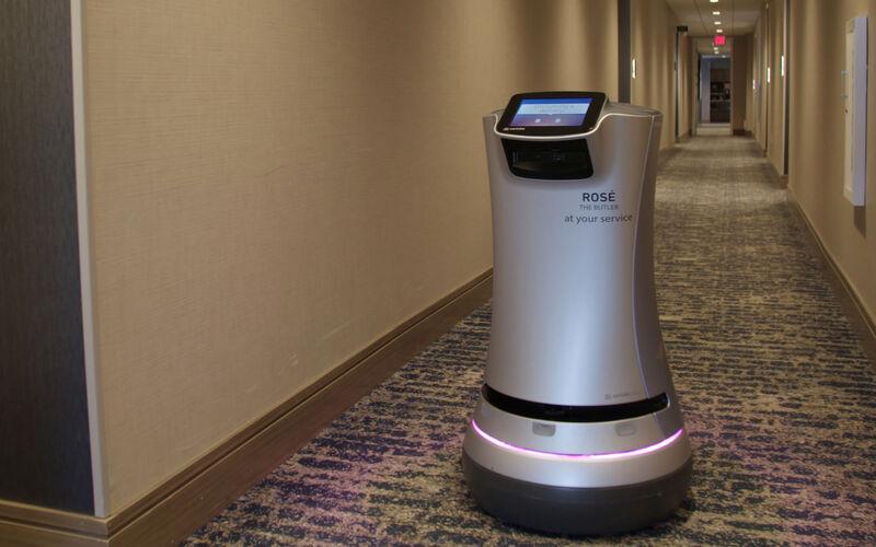 Wine-Delivering Hotel Robots