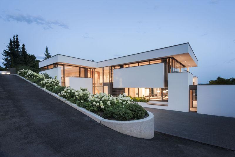 Boxy White Homes