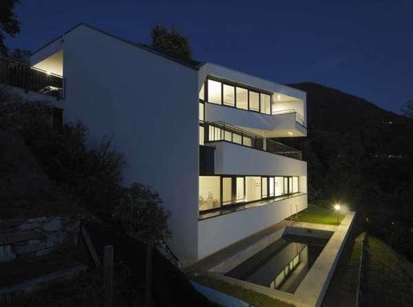 Angular Alpine Homes