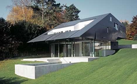Jet Fighter Inspired House