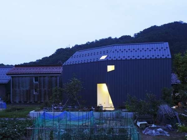 Futuristic Barn Abodes