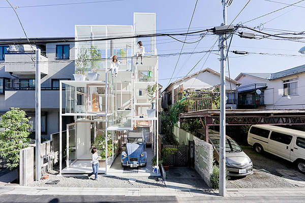 Entirely Transparent Homes
