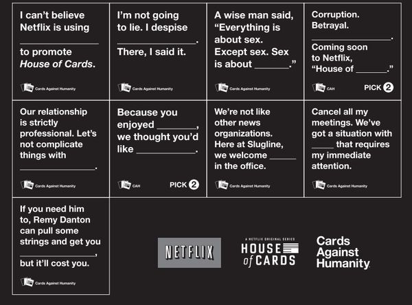 Cards Against Humanity Sex Game