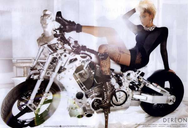 Tough Chick Biker Photos
