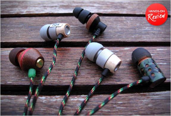 Rasta-Inspired Earbuds