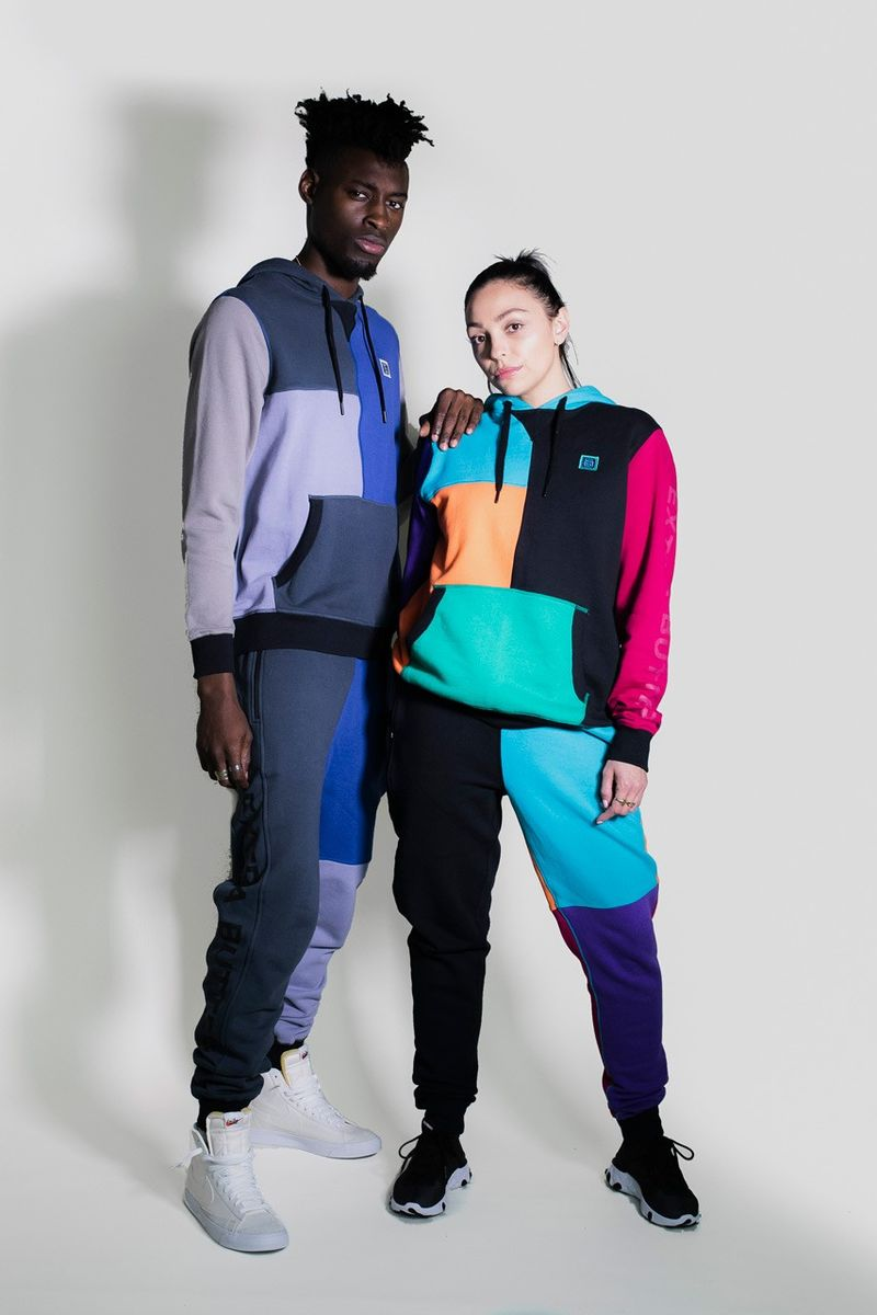 Retro-Influenced Hip-Hop Sportswear