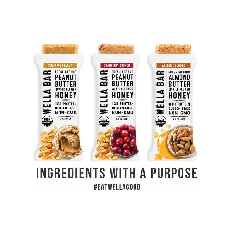 Peanut Butter-Based Bars