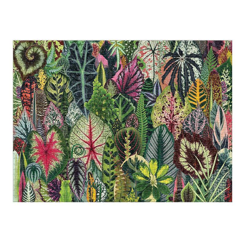 Vibrant Plant-Themed Puzzles