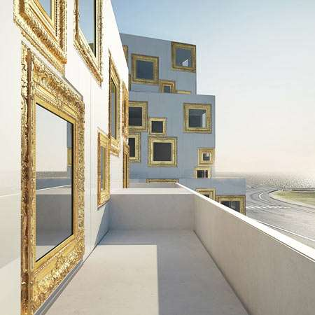 Gilded Window Frames