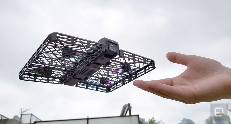 Cassette-Sized Camera Drones