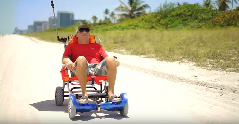 Wheelchair Hoverboard Attachments
