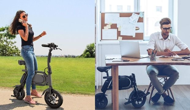 Pedal-Free Eco Commuter Bikes
