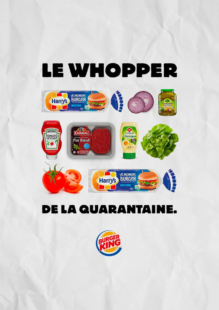 Make-Your-Own Burger Ads