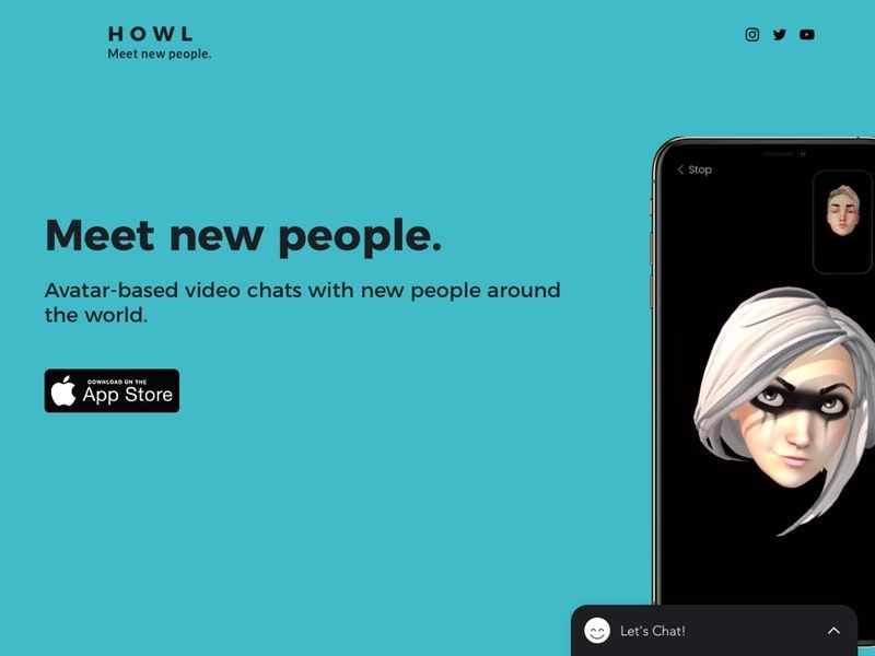 Anonymous Avatar Chat Apps